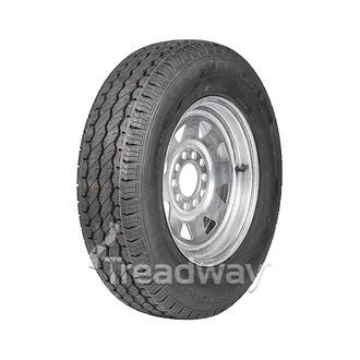 """Wheel 13x4.5"""" Galv Spoke 5x4.25/5x4.5"""" PCD Rim 175/70R13 Tyre W188 Westlake 82T"""