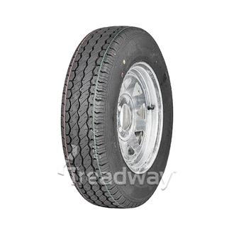 "Wheel 13x5"" Galv Spoke 5x4.5"" PCD (0 OS) Rim 175R13C 8ply Tyre W305"