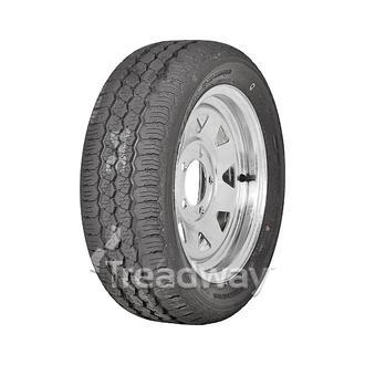 "Wheel 13x6"" Galv Spoke 5x4.5"" PCD Rim 195/50R13C 0ET Tyre W169 Velocity"