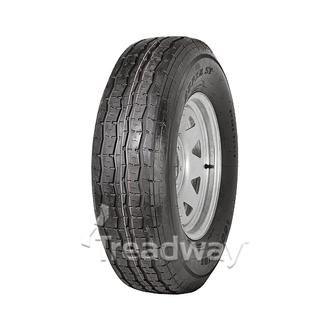 "Wheel 16x6"" Galv Spoke 6x5.5"" PCD Rim 235/80R16 10ply Tyre W176 124/120L 6.5J"