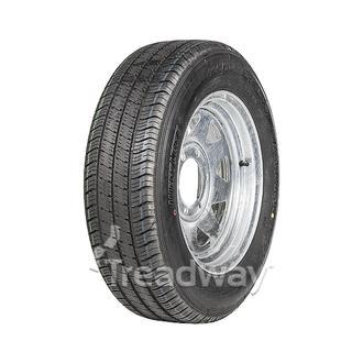 """Wheel 15x6"""" Galv 6x5.5"""" PCD Rim 195/70R15C 8ply Tyre W185"""