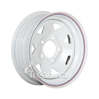 """Rim 13x4.5"""" White Spoke 5x4.5"""" PCD TBD"""