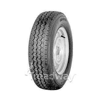 "Wheel 14x5.5"" Galv .35mm Offset 5x4.5"" PCD Rim 185R14C 8ply Tyre Goodride"