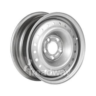"Rim 15x6 Silver 5x4.5"" PCD +35 offset"