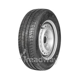 "Wheel 15x6"" Silver +35 offset 5x4.5"" PCD Rim 195/70R15C 8ply Tyre W185"