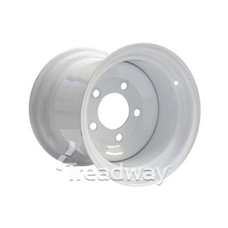 Rim 10.50-12 White 5x140mm PCD