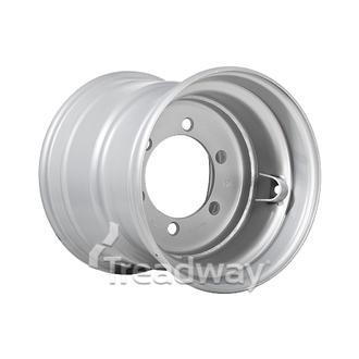 "Rim 13.00-15.5"" Silver 6x205mm PCD 161mm CB"