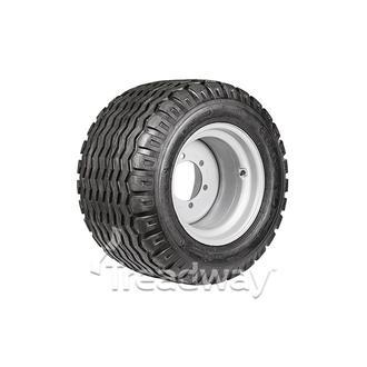 "Wheel 16.00-17"" Silver 6x205mm PCD Rim 19.0/45-17 14ply AW Tyre W154"