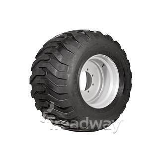 "Wheel 16.00-22.5"" Silver 8x275mm PCD Rim 500/60-22.5 16ply Tyre W200"