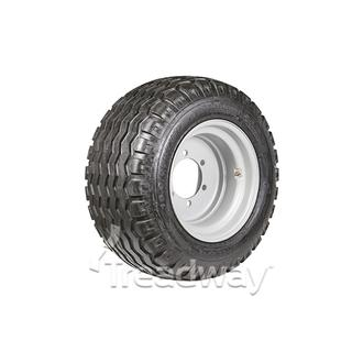 "Wheel 13.00-17"" Silver 6x205mm PCD Rim 15.0/55-17 14ply AW Tyre W154"
