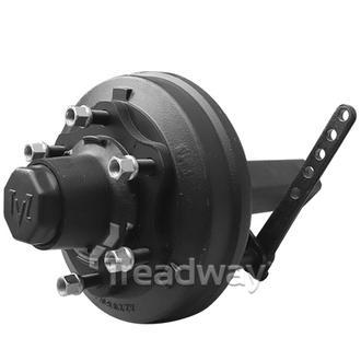 Hub/Stub Assy Braked 60x60x410mm 2500kg 6x205mm PCD Screw-on Cap TVZ