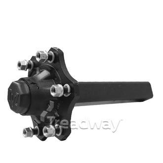 Hub/Stub Assy 70x70x410mm 3750kg 6x205mm PCD Screw-on Cap TVZ