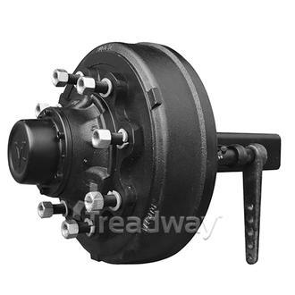 Hub/Stub Assy Braked 80x80x500mm 4500kg 8x275mm PCD Push-on Cap TVZ TBD