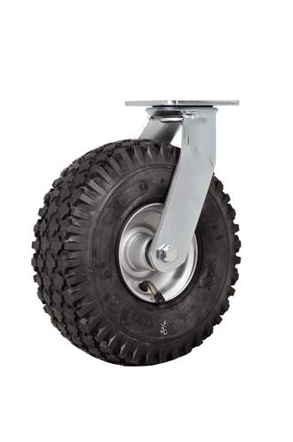 Castor Swivel Yoke assy 93660 410/350-4 4ply Diamond W108 Wheel