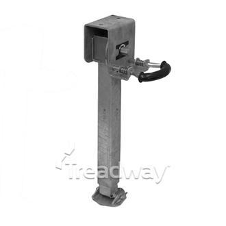 Corner Steady Drop Down Steel Foot Galv. 900kg Knott (new Design )