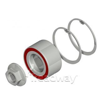 Bearing Knott Kit suits 3500kg Knott Hubs 39x72x37mm brg(47306) x1 nut x2 clips