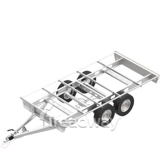 Chassis 4800x2400mm 3.5T Tandem Galv