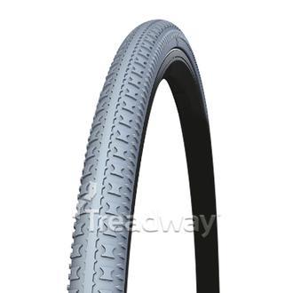 Tyre 24x1-3/8 (37-540) Grey Solid PU R402