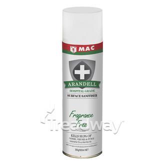 MAC Arandell Surface Sanitiser Fragrance Free 500ml
