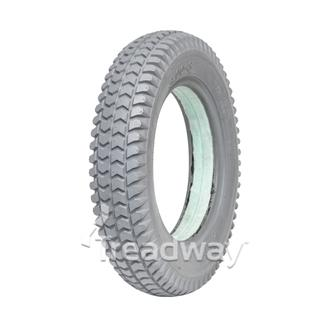 Tyre 300-8 Grey Solid Green Fill W2805 C248