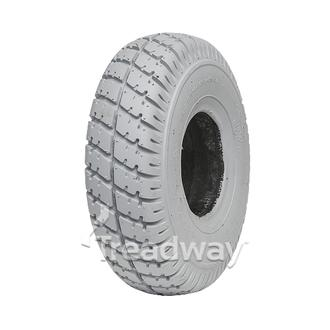 Tyre 300-4 Grey Solid PU Filled W2817PU C9210