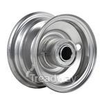 "Rim 2.50-5"" Steel Silver 1"" FB"