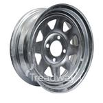 Rim 13x4.5 Galv Spoke 4x100mm PCD 0ET