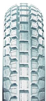 Tyre 400-8 (400x100) 4ply Grey R113