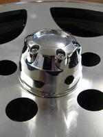 Hub Cap 70mm Chrome Plastic TBD