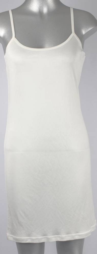 Pure silk chemise plain natural Code:AL/SILK/3PL