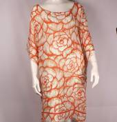 Alice&Lily floral caftan orange Style: SC/4659/OR