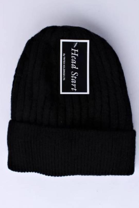 Headstart  cashmere beanie black  Style : HS/4751BLK
