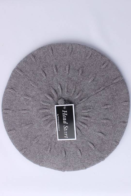 Headstart  cashmere beret grey  Style : HS/4752