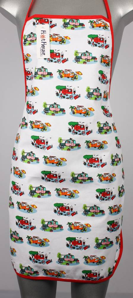 Retro Caravans small apron Code: APR-RET/S