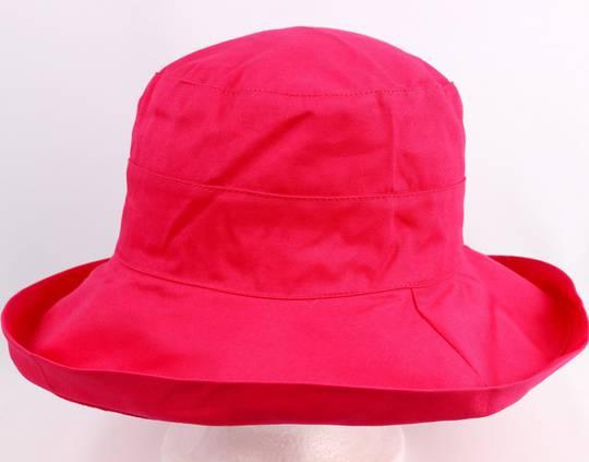 Classic cotton noosa hat hot pink Code:HS/5600- 10 COLOURS