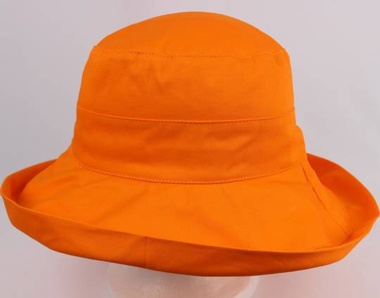 Classic cotton noosa hat orange Code:HS/5600 -10 COLOURS
