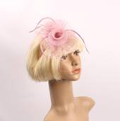 Headband fascinater w w spotted net blush STYLE: HS/4681 /BLUSH