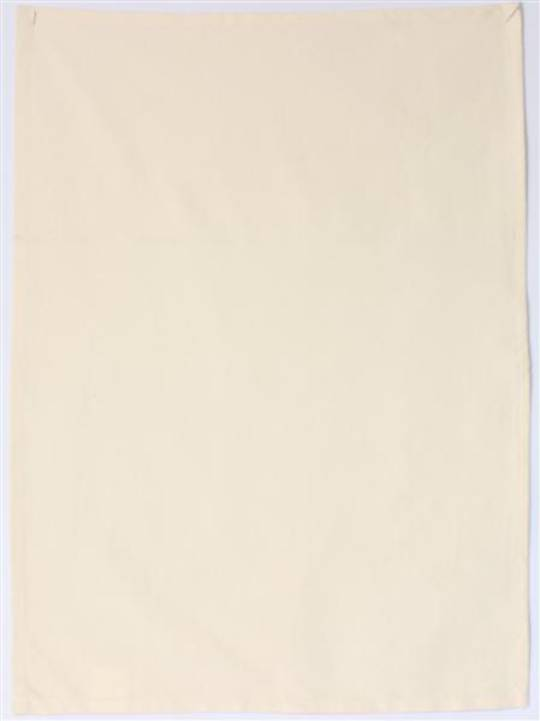 "SCREEN PRINTING ""Plain"" tea towel natural. Code: T/T-PLAIN/NAT. (NEXT DELIVETRY FEBRUARY 2021)"