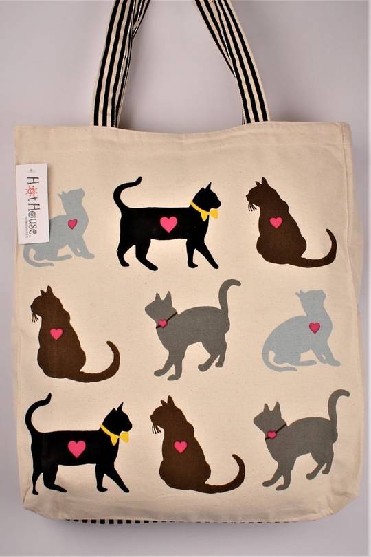 Luv cats tote bag. Code:TB-LUV/CAT