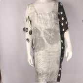 Alice&Lily flower  spot caftan black and white Style: SC/4660