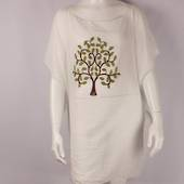 Alice&Lily embroidered tree caftan white Style: SC/4695/WHT