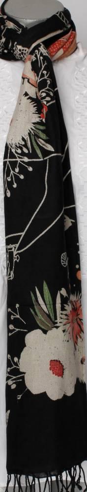 Pure viscose shawl/scarf Style:SC/VILLAGE
