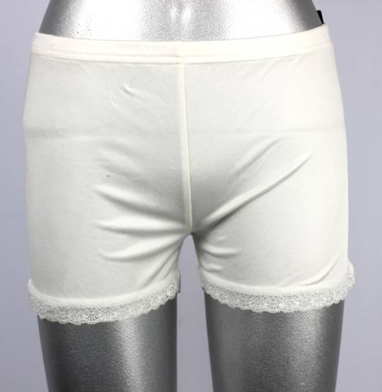 Silk French knickers with lace trim Style:AL/SILK/9