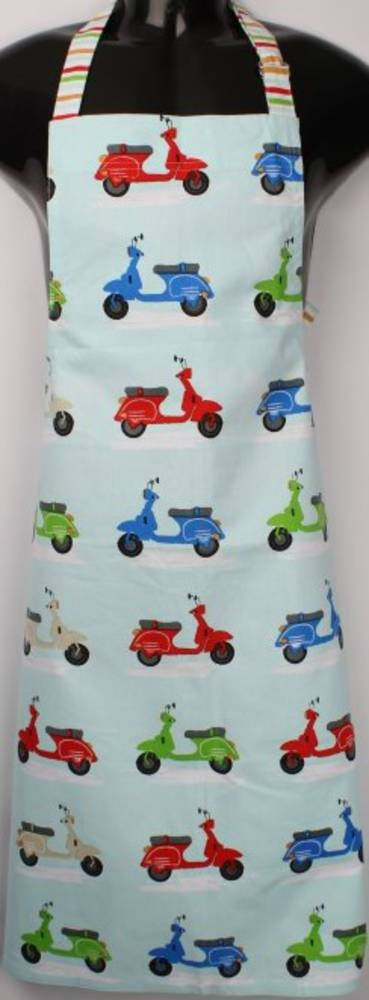Scooter apron 'Life is a beautiful ride' Code: APR-SCOO