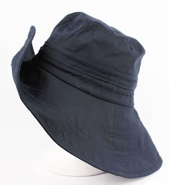 Lightweight cotton hat navy Style: HS/1663