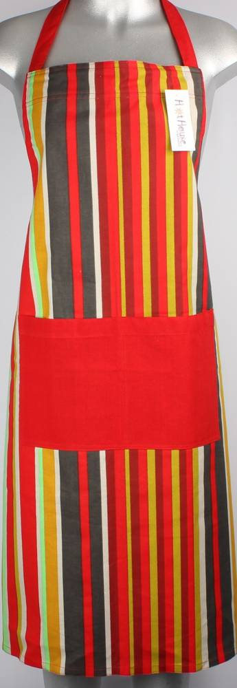 Morocco apron red Code: APR MOR/RED CLEARANCE $4.00 EA