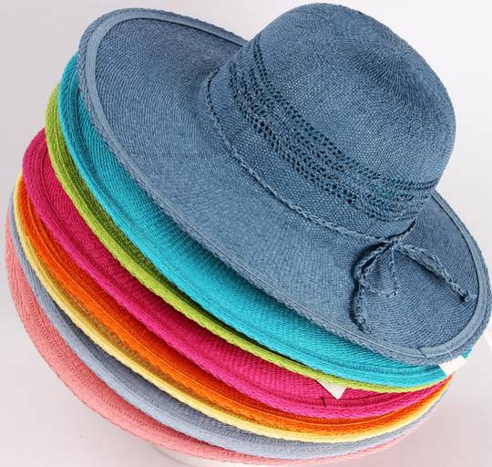 HEAD START  wide brim sunhats in 8 bright summer colours Style: HS/1416
