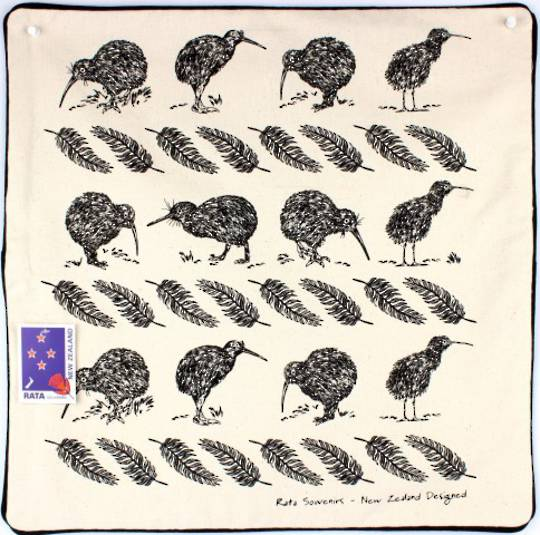 Cushion cover NZ kiwi natural Code: S600/NZ KIWI