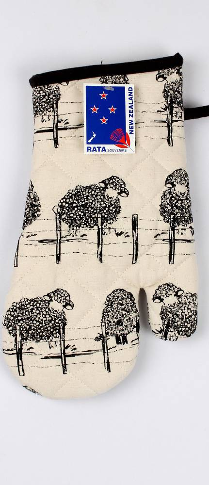 Oven Glove NZ sheep Code: S200/NZSH