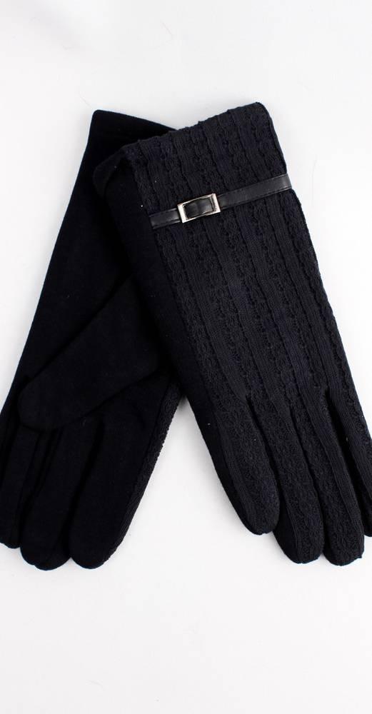 Thermal glove w self buckle/strap dark navy Style; S/LK4250/NAVY